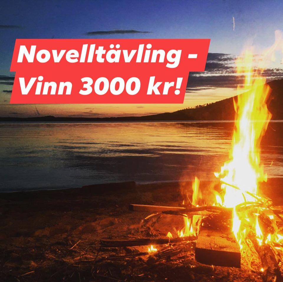Novelltävling - vinn 3000 kr!